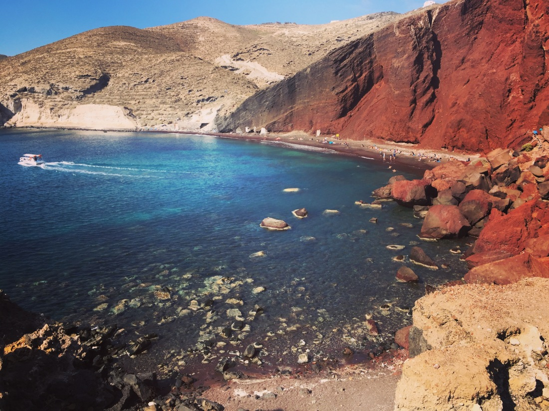 Red beach of Akrotiri, Santorini