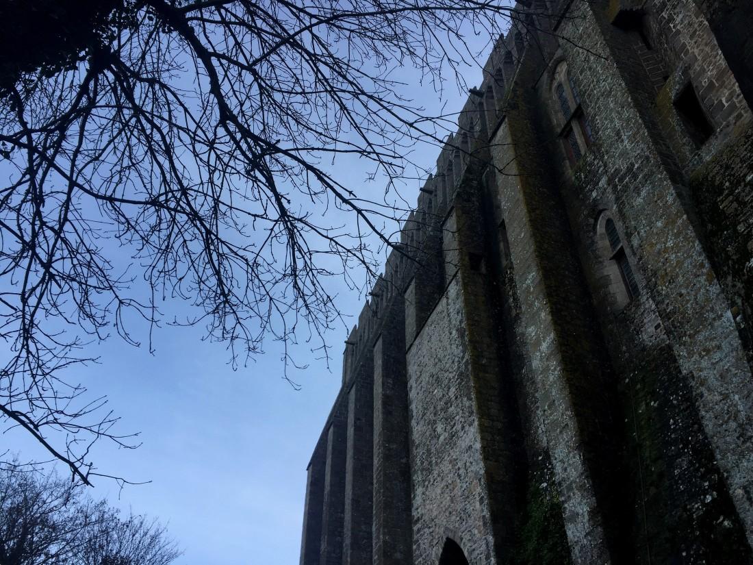 Mont Saint-Michel in Winter